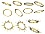Halos PNG Stock by Roys-Art