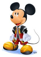 All Hearts - King Mickey by LynxGriffin