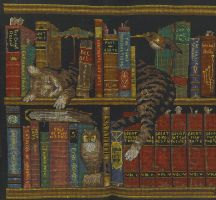 Frederick the Cat Cross Stitch by sgoheen06