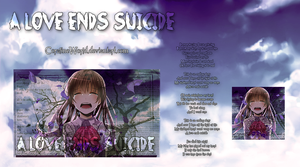 A love ends suicide by CoralineWorld