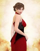 Woman in Red by Elle-Arden