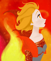 Let the flames rage on by Pixelowska