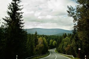 Hill road by Artush
