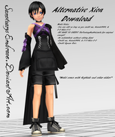 {MMD DOWNLOAD} Alternative Xion (KH3?) by SanctuarysEmbrace