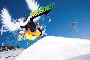 Snowboarder's Scream by hatefiles