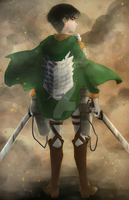 Corporal Levi by OOT-Link