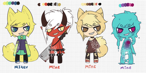 THESE WERE ADOPTS.... by Kiwi-adopts
