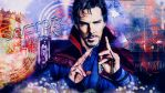 Doctor Strange wallpaper 01 by HappinessIsMusic