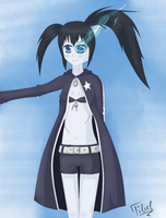 Black Rock Shooter by bakkeneko