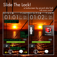"""Slide The Lock"" Lockscreen by fodi666"