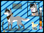 Zack- on all four paws C.E by BerryKitsune