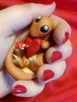 Valentine Charmander by Tinebell