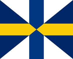 Flag United Kingdom of Sweden and Finland by TiltschMaster