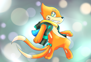 Haze the Buizel by kurisu-leon