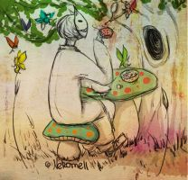 + Smiley in a Fairyland + by nekomell