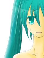 Miku's Loneliness by Leenh