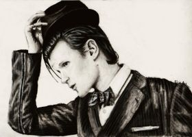 Matt Smith by feliciabe