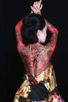 Red Dragon-backside by ikie