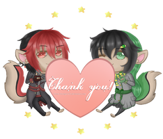 Thank you! by Firetiger215
