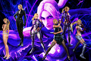 Tekken Nina Williams wallpaper by Steveburnside227