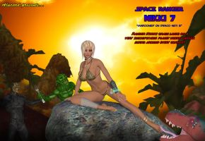 Nikki 7 Space Ranger concept cover art by GlobtheSpacetoad