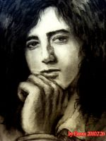 Jimmy Page Sketch 1 by beckpage