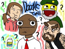 Left 4 Dead DOOODLES by SpizFeral