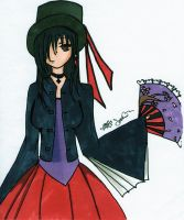 Mad Hatter Girl - Colored by HardStyle-Love