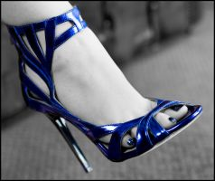 Tania's Blue Shoe by MTL3