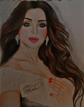 Angham Portrait by jejegad