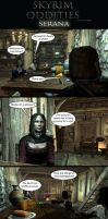 Skyrim Oddities: Serana by Janus3003