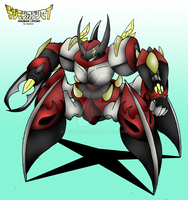 The Iron Beetle by techan