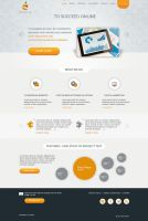 Web design for a digital agency by samadarag