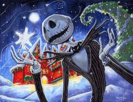 Jack Skellington by RayDillon