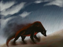 Shade Of Bloody Wolf by Sulmeldis-Ithilwen