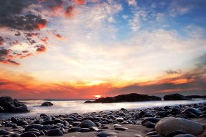 Serenity on the rocks by fusionx