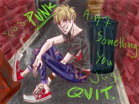 ::APH::Can't Quit Punk Revisited by tamaya-michi