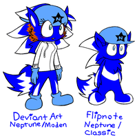 New restyle for Modern Nep by NeppyNeptune