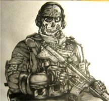 MW2 GHOST by hkintell