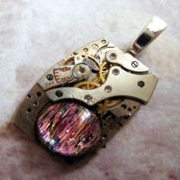 Steampunk Heart of the Tinman by Create-A-Pendant