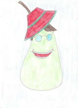 SMILING PEAR OF VENICE! by DSegno92