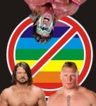 The Three Wrestlers who dislike Gays by JacobTheSpartan