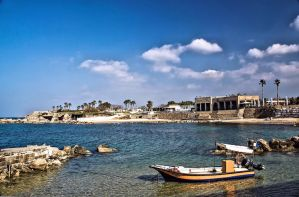 Sunny day at Caesarea by ShlomitMessica