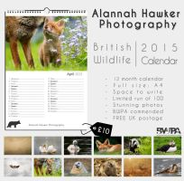 2015 - British Wildlife Calendar by Alannah-Hawker
