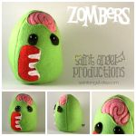 Zombers Plushie by Saint-Angel