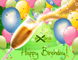 2013 Birthday Card 08 by ExoroDesigns