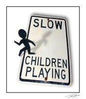 OOB Slow Children Playing by electricjonny