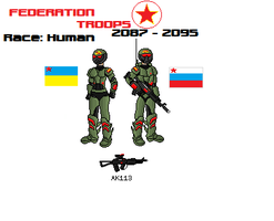 Russian Federation Trooper by Luckymarine577