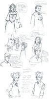 harry potter gag art dump by LamechO