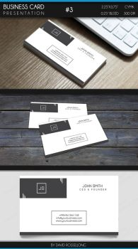 Business Card - Modern, Clean and Elegant #3 by Valixx